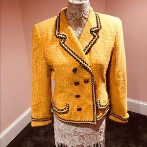 Rickie Freeman vintage tweed blazer
